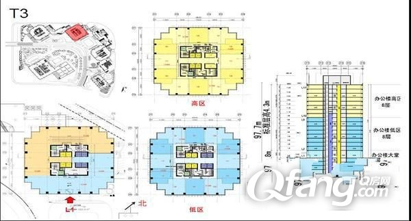 中铁青岛中心停车场平面图