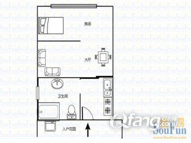 急售 西江月 单身公寓45平方精装 仅23万