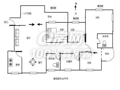 君怡花园 3,8  君怡花园 3700 元/月  3室2厅 116.
